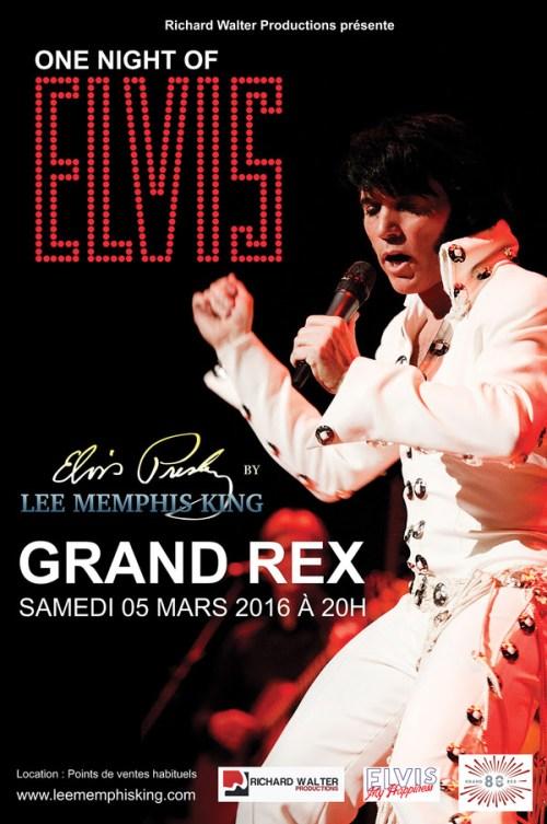 One Night Elvis affiche