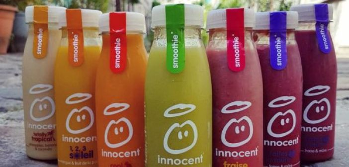 Smoothies Innocent et Heineken
