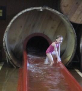 bottom of slide