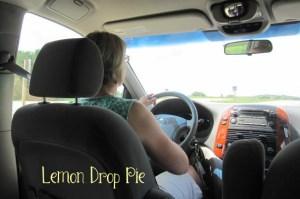 Ginny driving