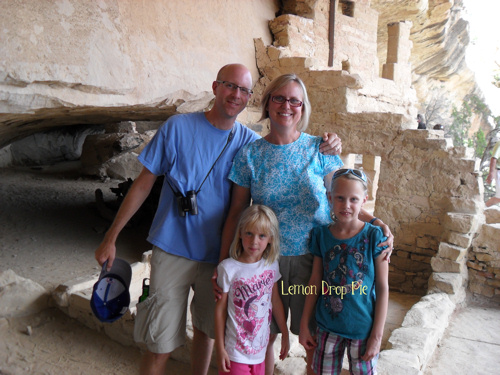 Exploring a cliff dwelling