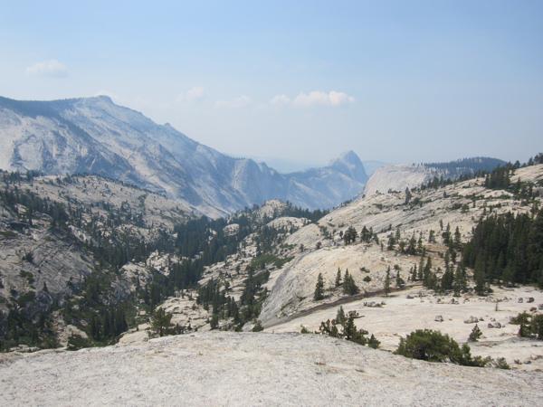 Yosemite view from Tioga Road