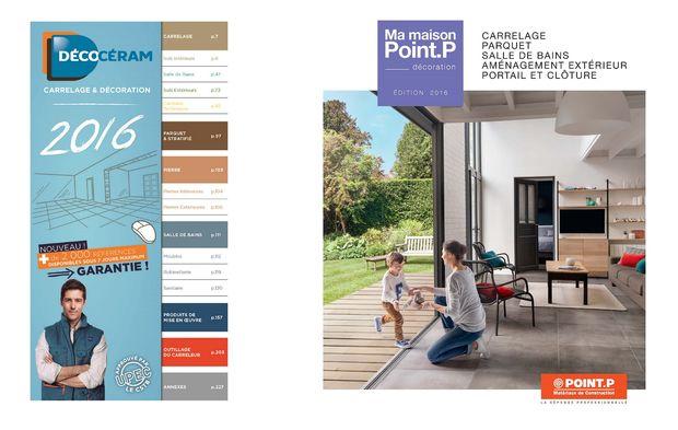 nouveaux catalogues decoceram et point p