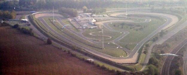 Vue aérienne du circuit Carole, Seine Saint-Denis, France