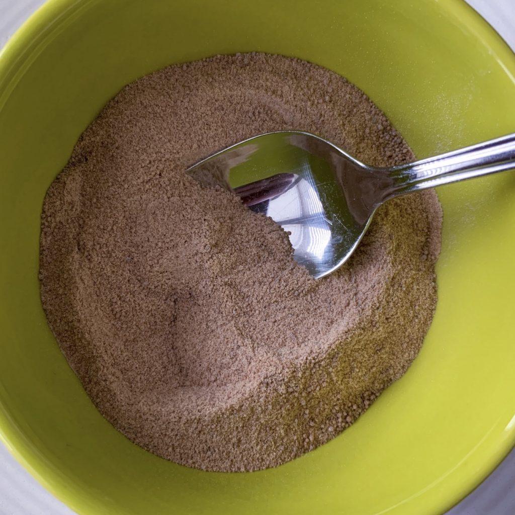 coconut palm sugar in bowl