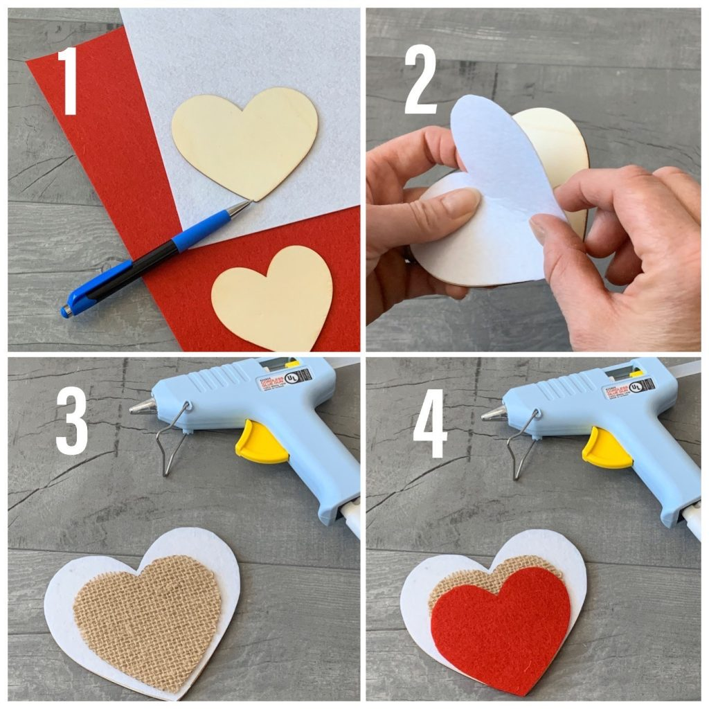 collage on how to make heart for diy valentines candy bouquet