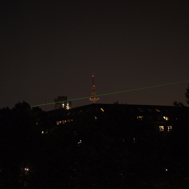 Laser in Hamburg