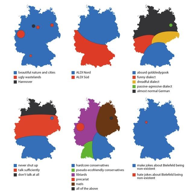 Sechs Mal Deutschland