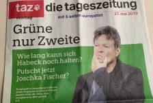 Tageszeitung vom 27. Mai 2019