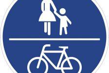 Gemeinsamer Geh- und Radweg