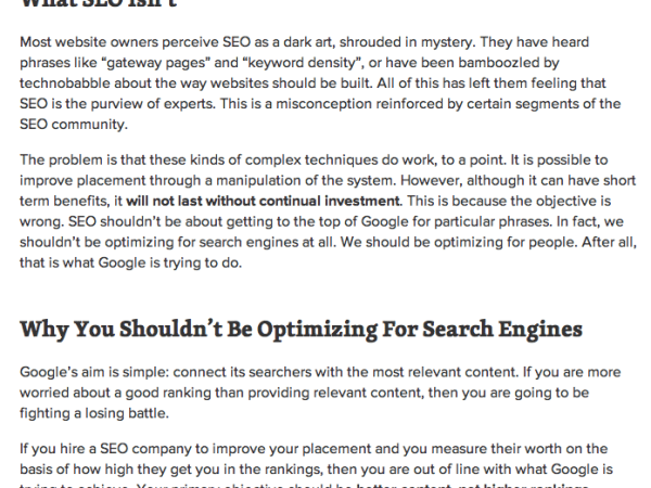 SEO Wizards at Work