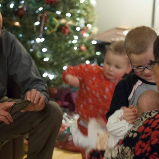 Recording 1st Christmas