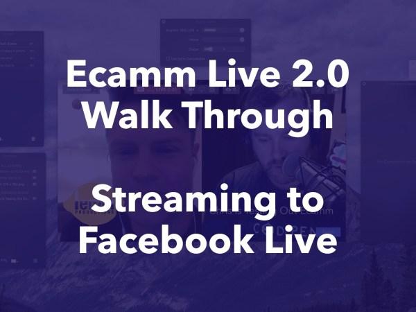 Ecamm Live 2