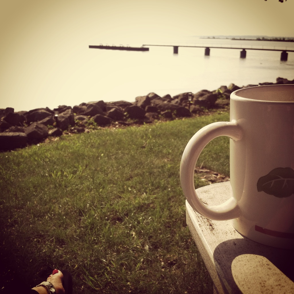 Coffee at the Lake