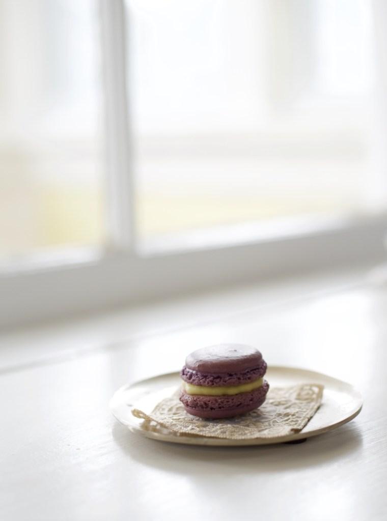 One Purple Macaron