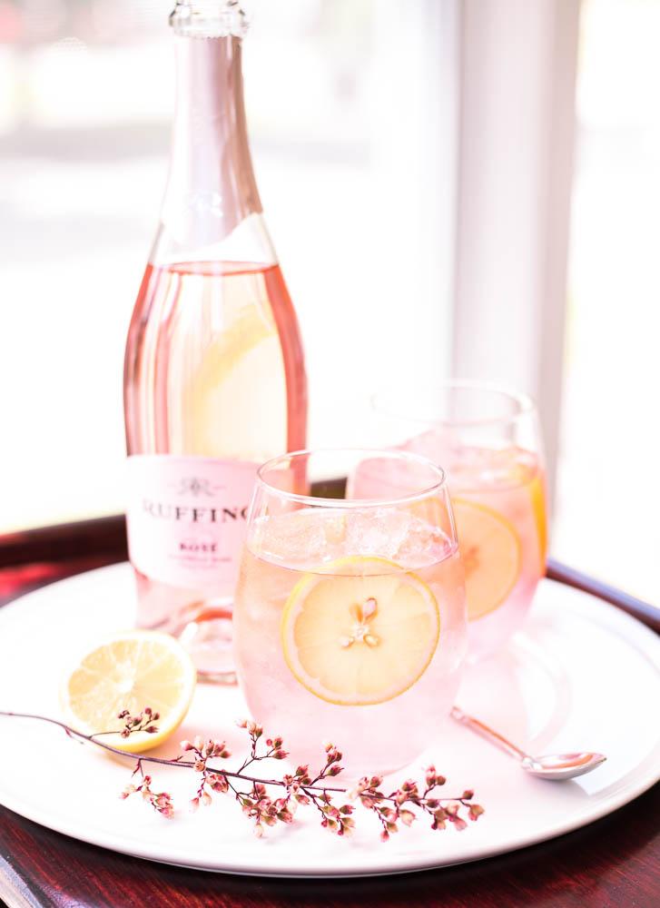Sparkling Rosé Spritzer