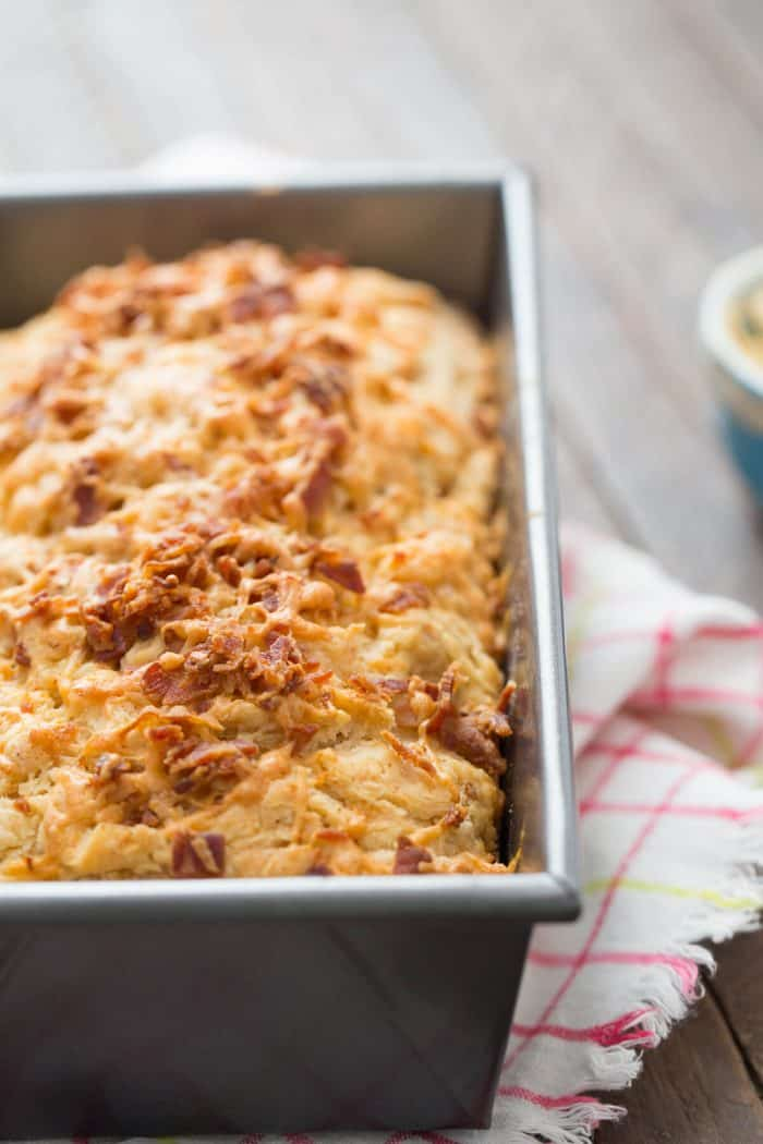 Did you know you can use beer in place of yeast? This beer bread is so tender and soft and it is has so much flavor too!