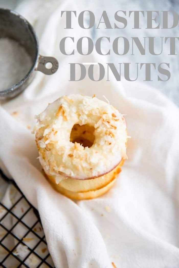 baked donut recipe title