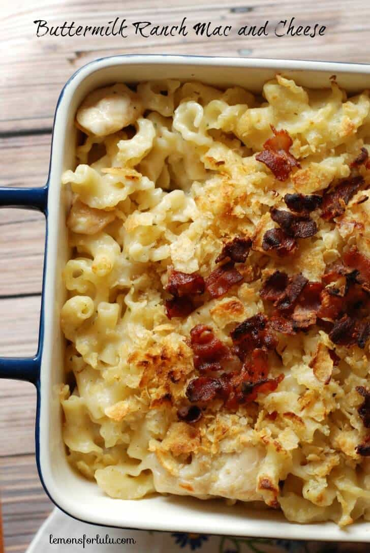 Buttermilk Ranch Mac and Cheese {Lemons for Lulu}