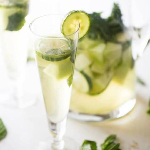 Cucumber Melon White Sangria