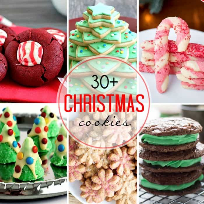 30 Christmas Cookie recipes for your cookie tray ; all you need for the season! lemonsforlulu.com