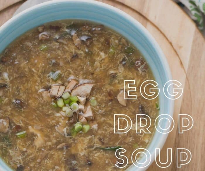 No more take out now that I can make this easy egg drop soup recipe at home!