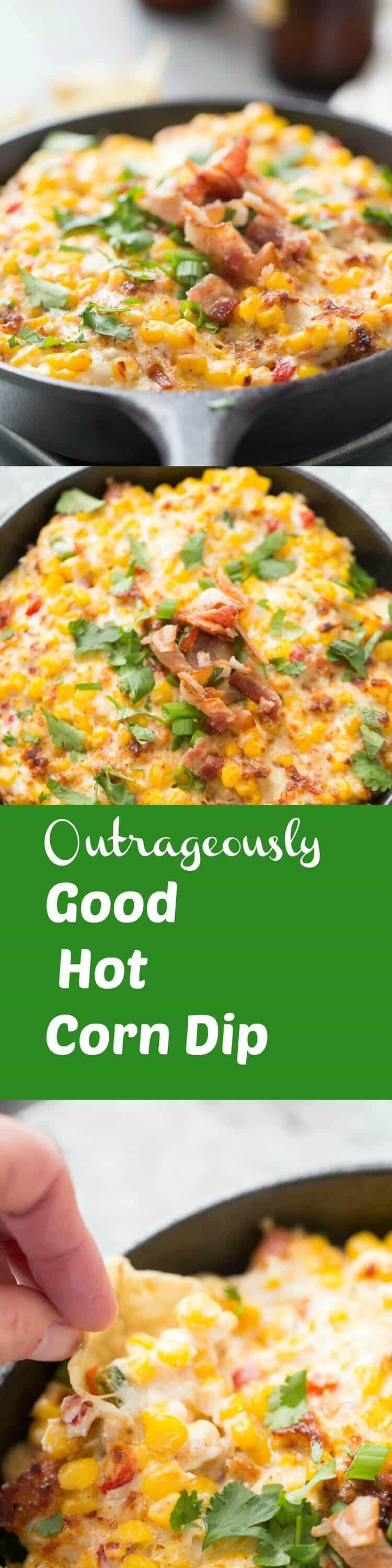 Nothing beats this hot corn dip when it comes to flavor! The hot, bubbly, melty dip is so unforgettably good!