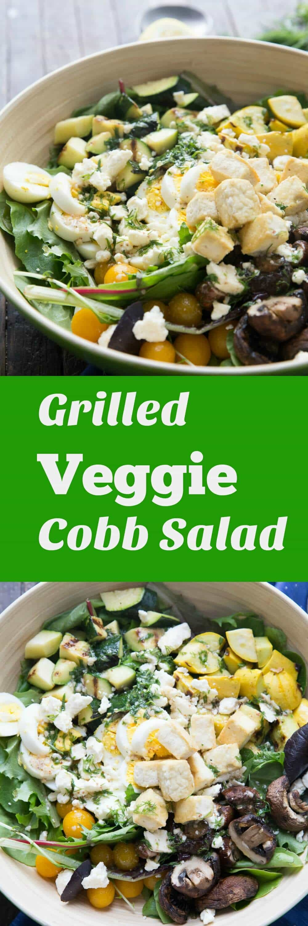 Want to feel good about yourself? Then this veggie Cobb salad is what you want! The flavor in this salad will have you hooked! lemonsforlulu.com
