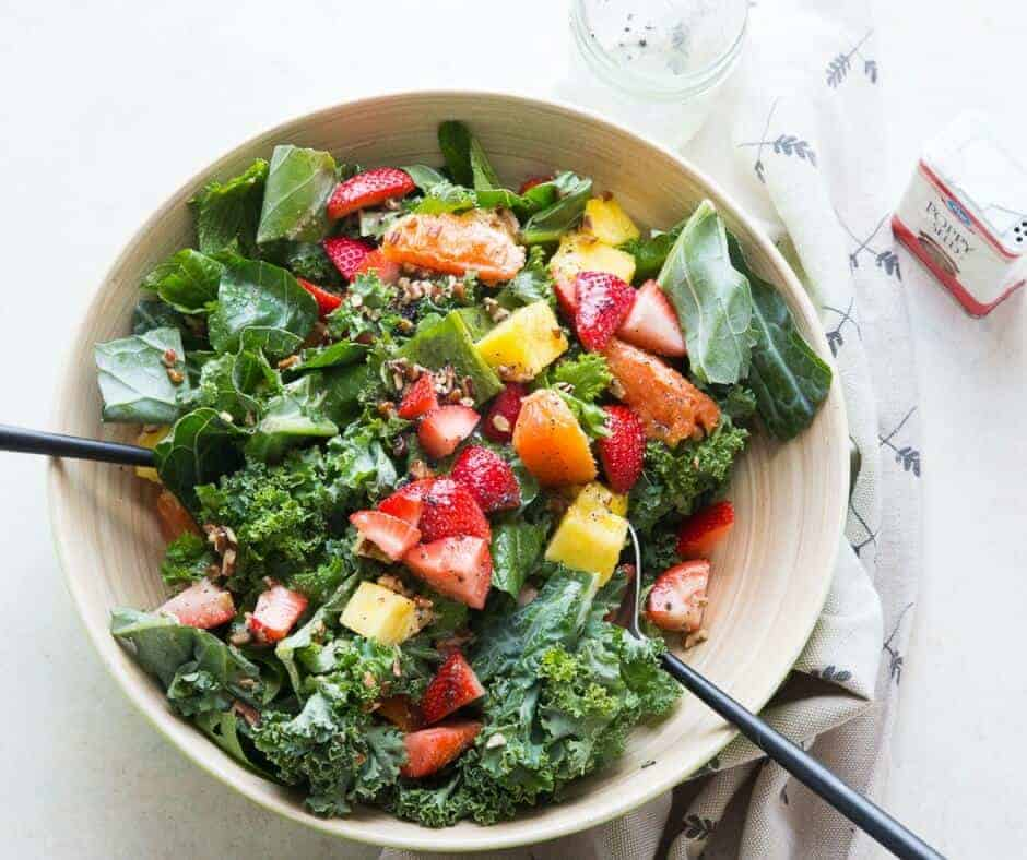 Mixed Greens and Citrus Salad {Lemons for Lulu}