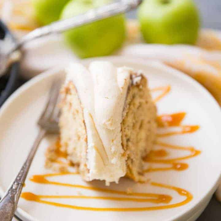 Brown Sugar Apple Bundt Cake