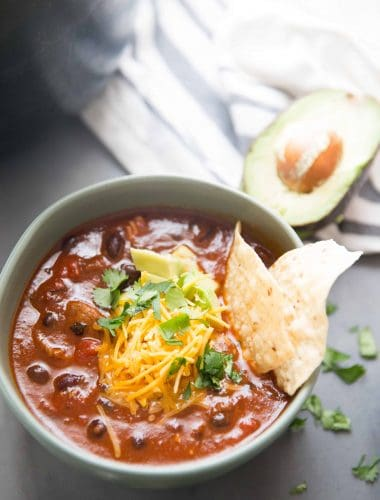 Easy brisket chili