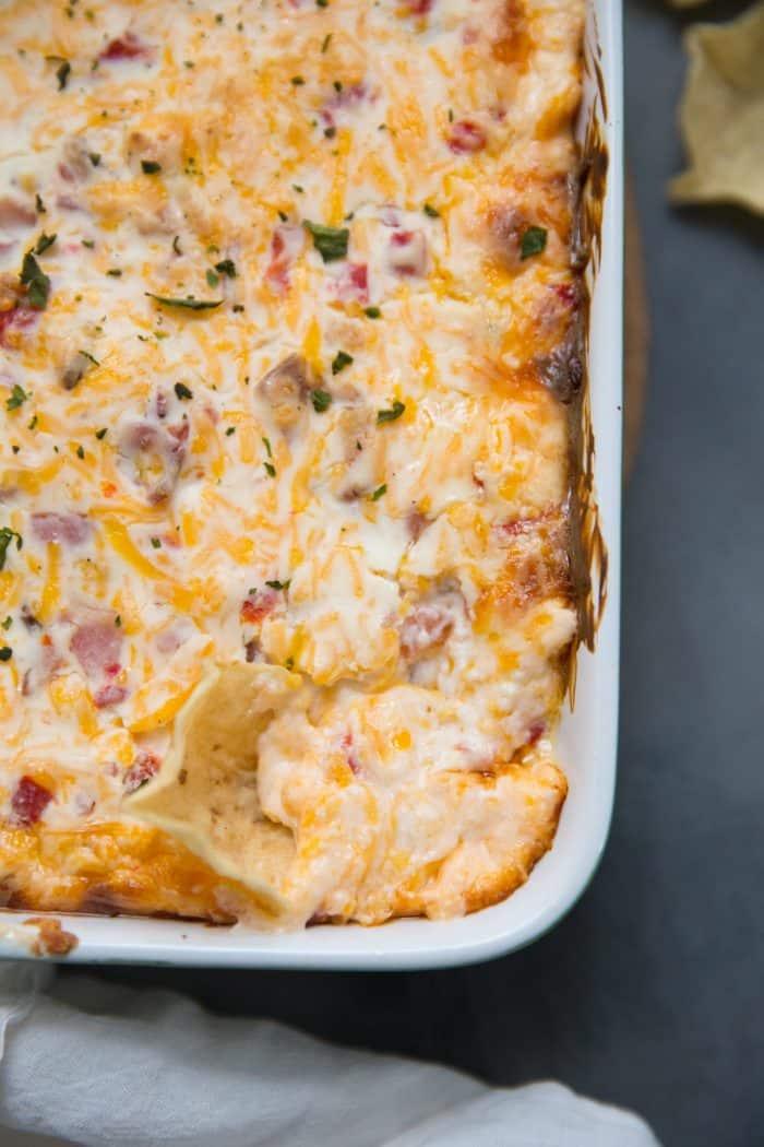 Easy pimento cheese dip