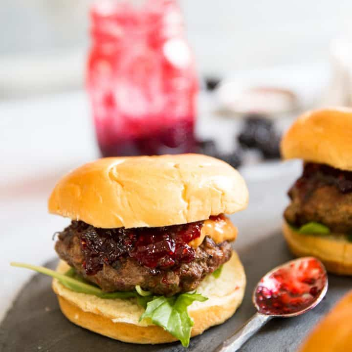 Peanut Butter and Jelly Burger Recipe