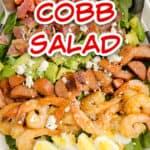 creole shrimp cobb salad title