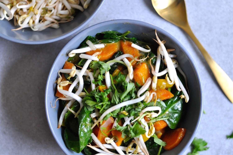 Gesundes Gemüse-Curry