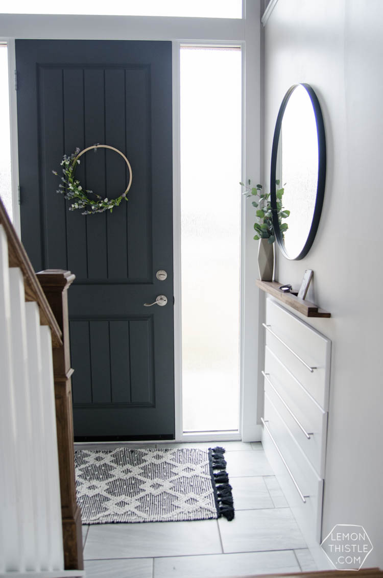 Small Foyer Makeovers : Small foyer makeover ideas