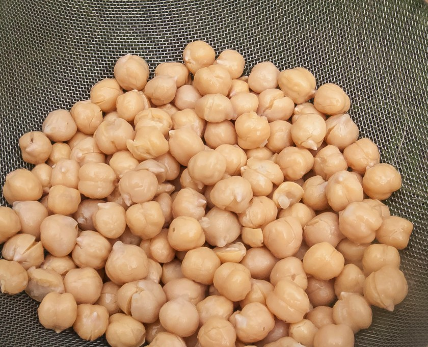 Cooked Chickpeas ready to use in multiple recipes.