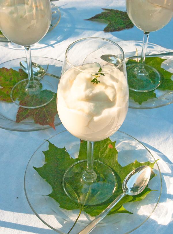 Maida Heatter's Lemon Mousse