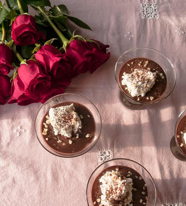 Chocolate Nutella Pots de Creme recipe