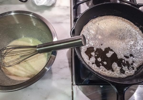 Gluten Free Dutch Baby Pancake recipe