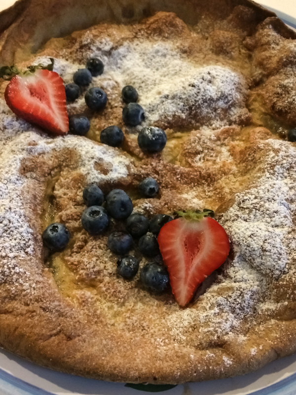 Gluten Free Dutch Baby Pancake recipe
