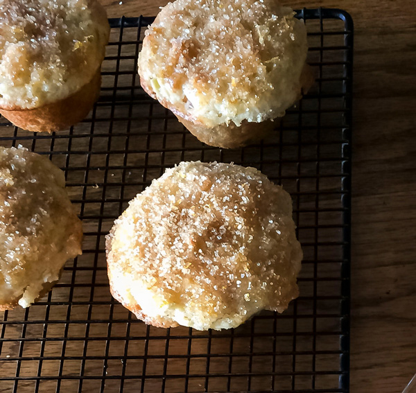 Apple Muffins with Lemon Glaze recipe