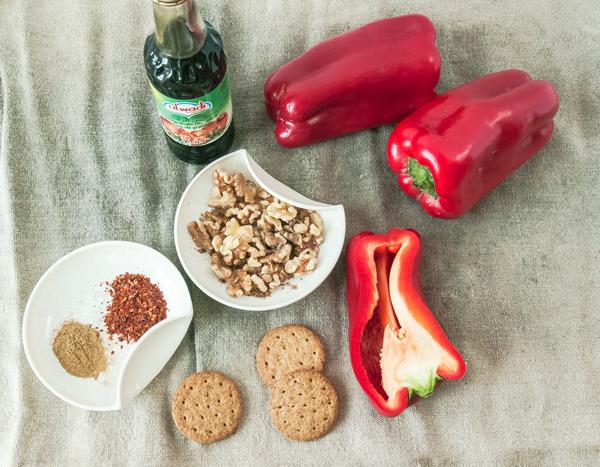 Roasted Red Pepper Dip- Muhammara