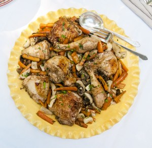 One Pan One Meal: Roasted Chicken dinner recipe