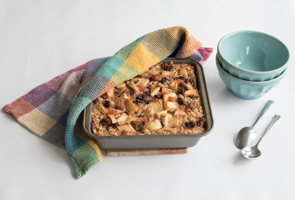 Baked Oatmeal with Apples and Oatmeal recipe