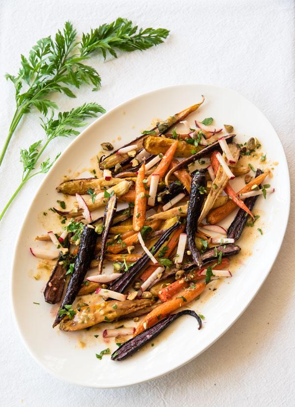 Sweet n' Spicy Herbed Carrots, recipe