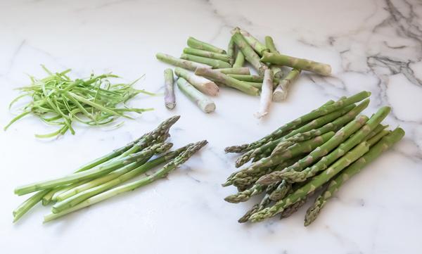 Asparagus with Orange Dressing reicpe