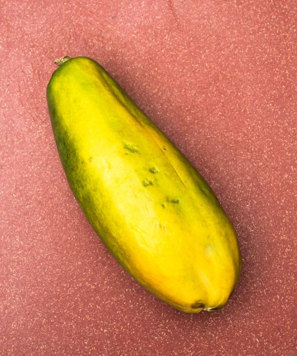 Sunshine Salad of Papaya Cucumber and Feta recipe