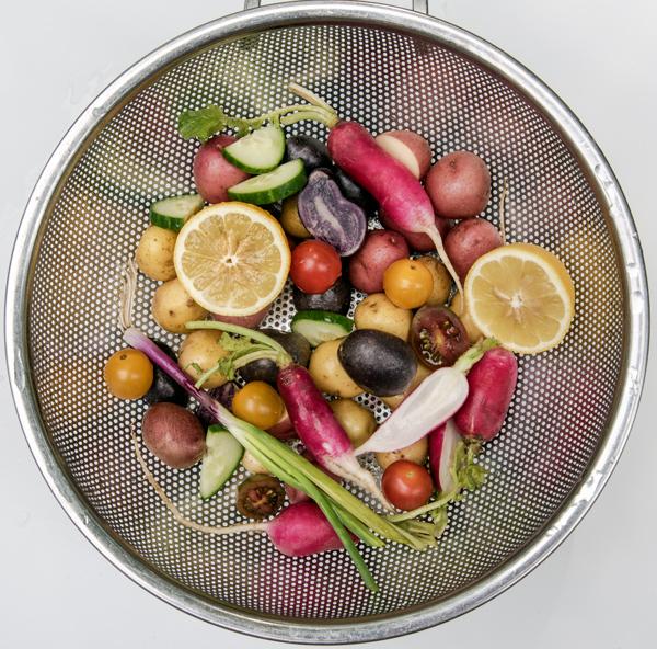 Anything Goes Lemon Potato Salad Recipe