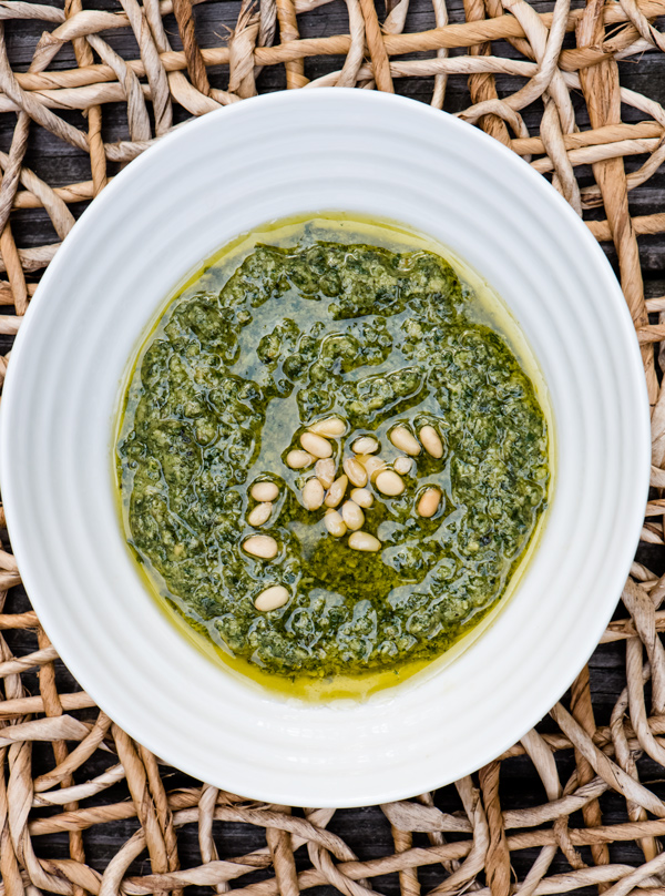 My Favorite Basil Pesto